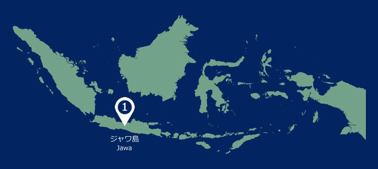 インドネシア全図